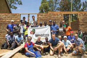Wentzo goes Kenia - bibliotheek